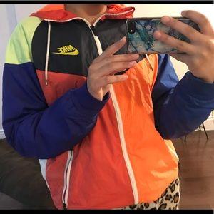 Colourful Nike windbreaker